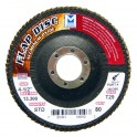 Type 27 High Density Aluminum Oxide Flap Discs